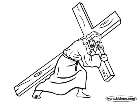 imagenes de jesus en la cruz para colorear jesucristo en la cruz para colorear imagui