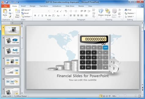 templates for financial presentation financial statement templates for powerpoint presentations