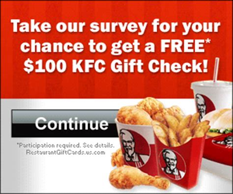 Kentucky Fried Chicken Gift Cards - get a free kfc gift card get a free stuff online free stuff free coupon free sle