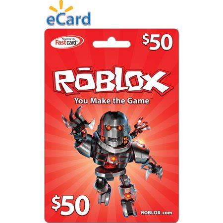 roblox $50 (email delivery) walmart.com
