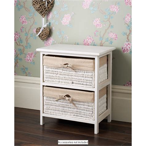 b m juliet 2 drawer basket unit 279855 b m