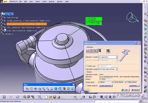 tutorial video catia v5 catia v5 tutorial 85 measure item youtube