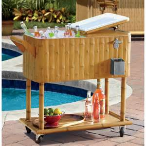 outdoor patio cooler outdoor chest beverage cooler ideas for your patio or deck