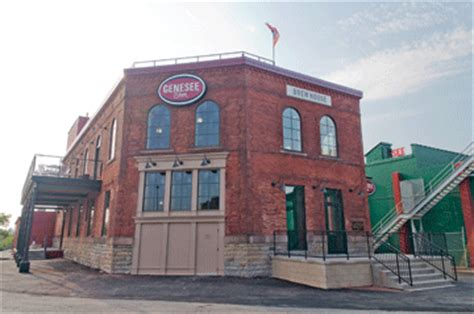 genesee brew house genesee brewery opens brew house ny daily record