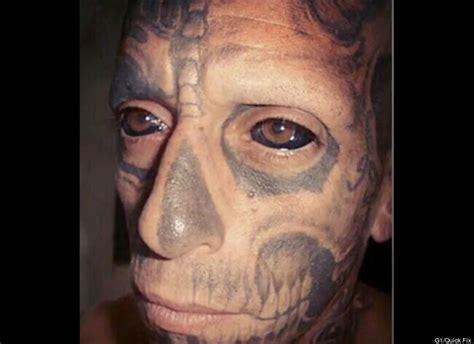 tattoo eye gang tatouage du globe oculaire une mode venue des gangs