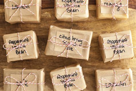 How To Wrap Handmade Soap - gifting your soap