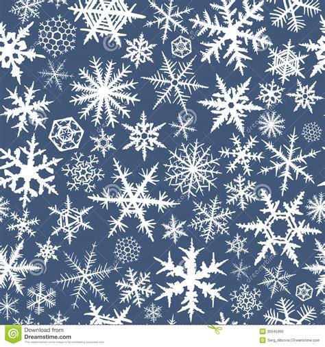 seamless snowflakes stock photo image