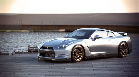 silver nissan car silver gt r car wallpapers 2000x1113 224683
