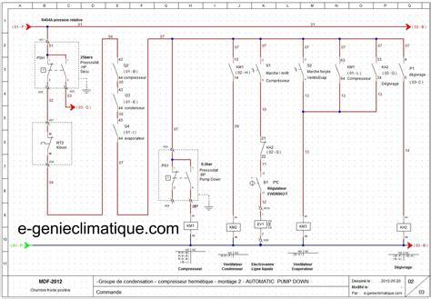 installation climatisation gainable circuit frigorifique