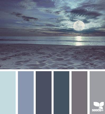 moonlight blue color moonlight hues seeds couleurs palette de