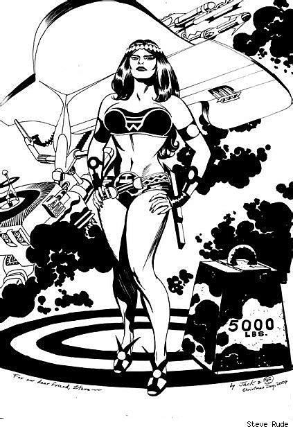 """Steve Rude's """"Sketches"""" Are Other People's Cover Art, and"""