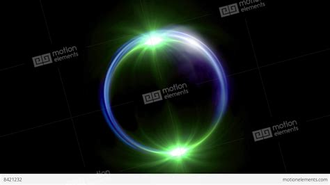Eclipse In Green green solar eclipse in space concept with green ring flare