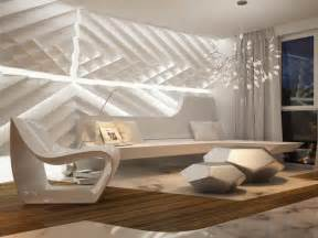 Interior Wall Design Bloombety Wall As Futuristic Interior Design