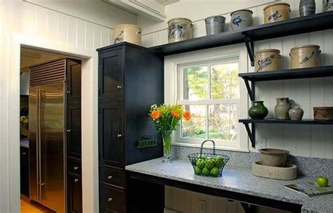 top trends open shelving in the kitchen interior walls