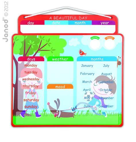 Janod Magnetic Calendar janod calendar quot a beautiful day quot spotty giraffe