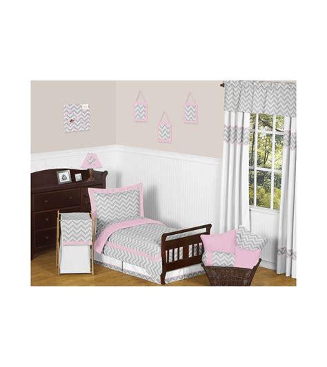 chevron toddler bedding sweet jojo designs zig zag pink grey chevron toddler