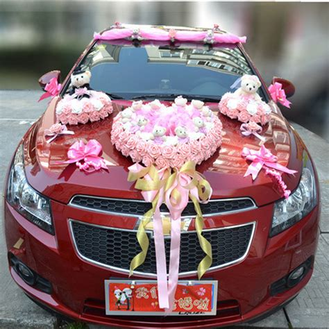 Wedding Car Decoration Kit by Luxury Car Flower Design Decoration Kit Wedding Car