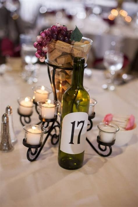 wine themed centerpieces centerpieces for wine theme wedding similar to these