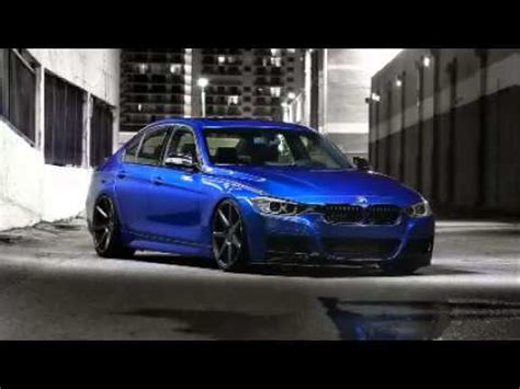 2014 bmw 4 series coupe on vossen wheels with body kit