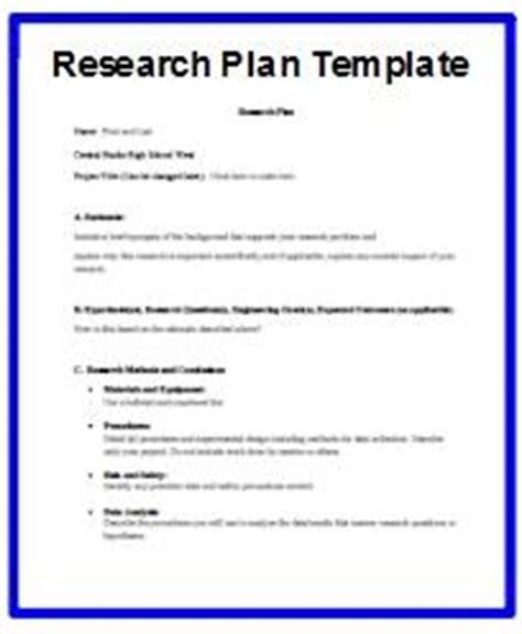 hayden, mark / developing a research plan