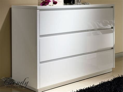 Gloss Chest Of Drawers by Alba High Gloss White Chest Of Drawers