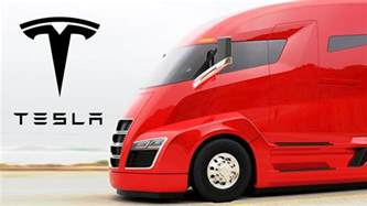 Electric Car News Tesla Tesla Plans Electric Semi Truck Electric Cars Spreading