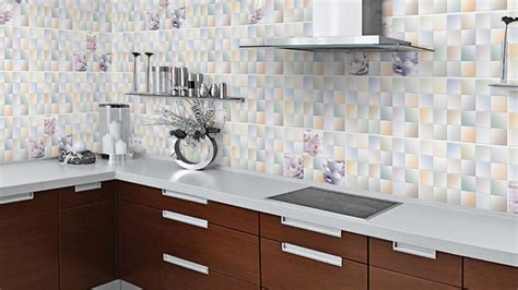 tile designs for kitchen walls kitchen wall tiles design at home ideas youtube