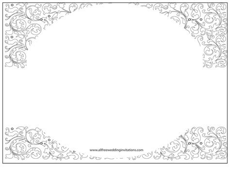 wedding invitations templates printable wedding invitation free wedding invitation template