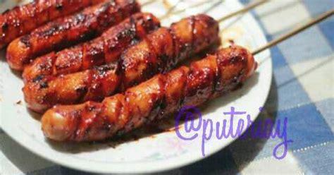 resep sosis bakar barbeque oleh puteri ayuningtyas cookpad
