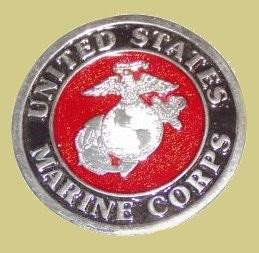 Quot United States Marine Corps Quot Heavy Cast Epoxy Inlay Buckle
