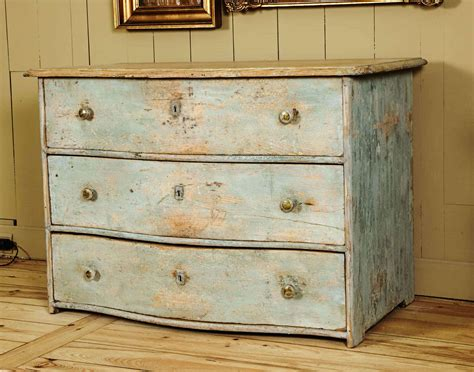 Curved Chest Of Drawers by Swedish Curved Chest Of Drawers With Light Blue