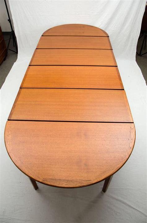 teak dining table seats 12 at 1stdibs large teak dining table four skirted leaves