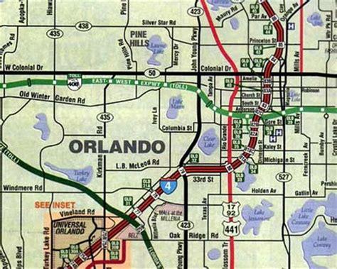 map of orlando florida and surrounding cities orlando map orlando city map