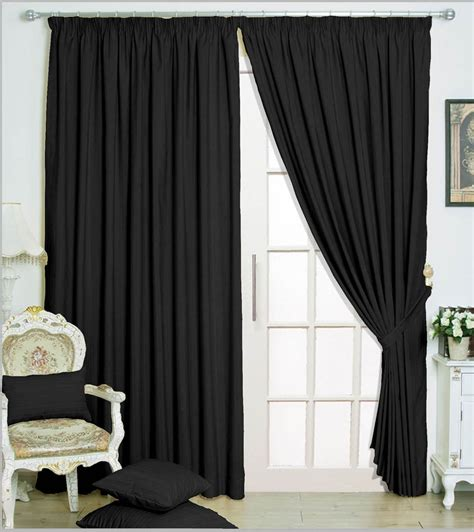 Black And Drapes Black Curtains Shop For Cheap Curtains Blinds And Save