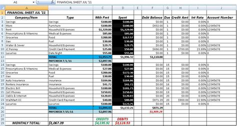 free accounting excel templates free accounting and bookkeeping excel spreadsheet template