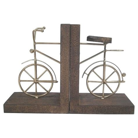 book end book end bicycle threshold target