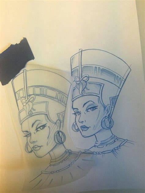 queen nefertiti tattoo designs nefertiti tattoo tattoo pinterest nefertiti tattoo