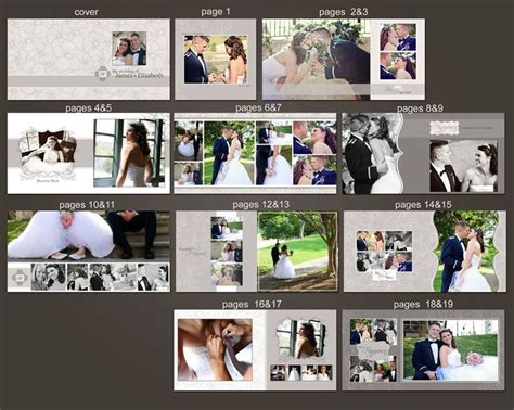 templates album photoshop free 1000 images about wedding fotoalbum on pinterest