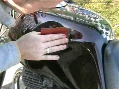 Motorrad Verkleidung Kratzer Entfernen kratzer in lackierung auspolieren finish youtube
