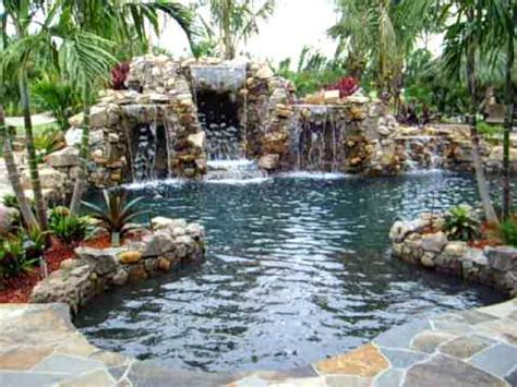 backyard paradise ideas back yard paradise by florida falls com youtube