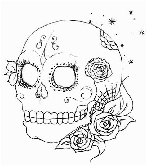 imagenes de calaveras niñas como dibujar una calabera dibujo nia cadaver pintado por