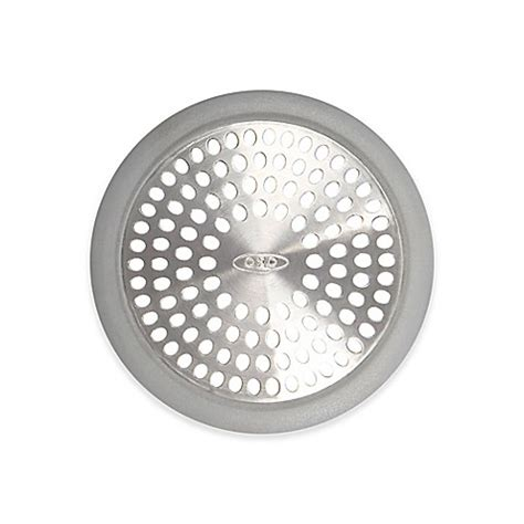 oxo bathtub drain protector buy oxo good grips 174 bathtub drain protector from bed bath beyond