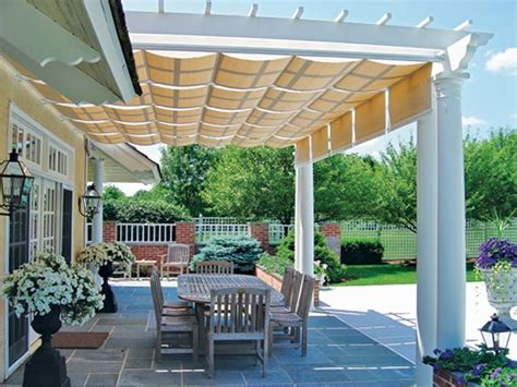 Pergola Canopy Ideas Covered Pergola Enhances And Grandeur Of Home
