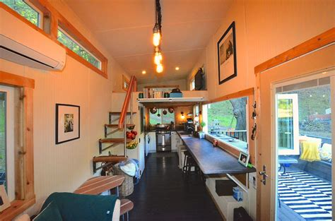tiny house on wheels interior tiny house on wheels with indoor outdoor entertaining spaces idesignarch interior