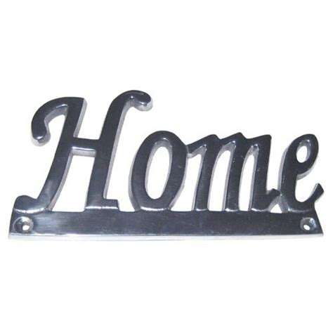 signs plaques metal wall contemporary range