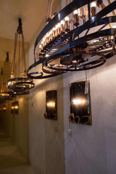 industrial style lighting hanging lights draw the eye up in style