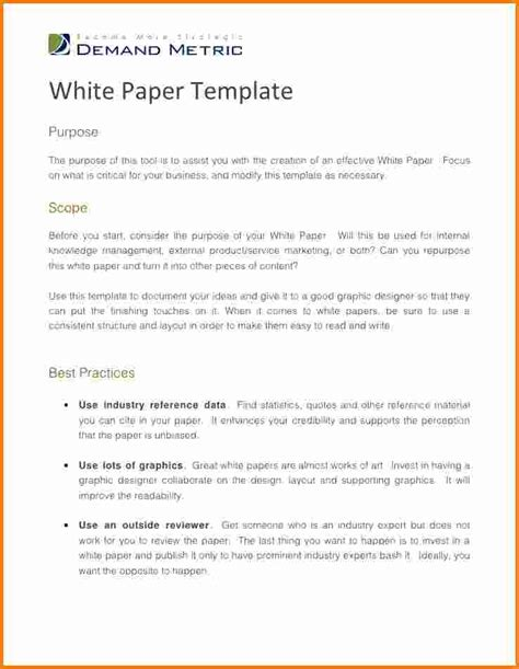 word paper template 5 white paper template word cashier resume