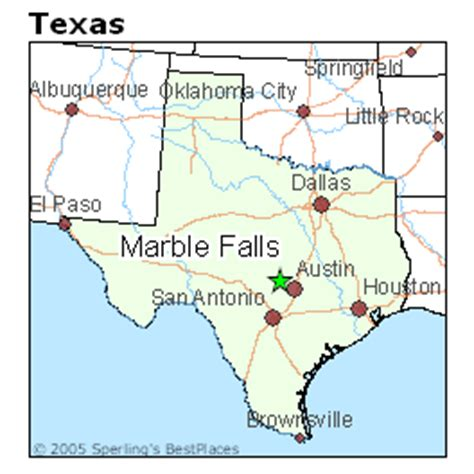 marble falls texas map best places to live in marble falls texas