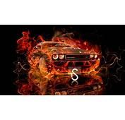 Dodge Challenger Fire Car 2013  El Tony
