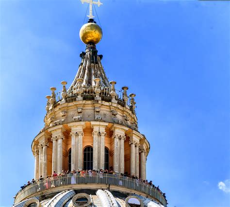 best view in rome best view in rome st peters dome vatican photograph by